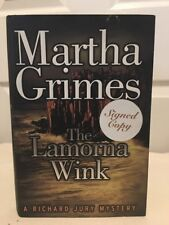 The Lamorna Wink by Martha Grimes (1999, Hardcover)