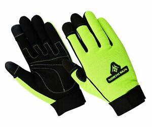 WorkWear Farmer Gardening TouchScreen Gloves Carpenter Builder Tradesman  UK