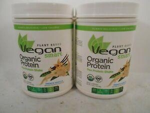 2x Vegan Smart Plant Based 20g Pea Protein Shake FRENCH VANILLA