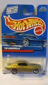 HOT WHEELS '70 CHEVY CHEVELLE  #107