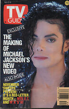 1991 TV GUIDE Exclusive The Making Of Michael Jackson's New Video Nov. 2-8