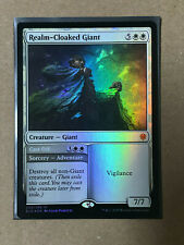 Realm-Cloaked Giant FOIL MTG Throne Of Eldraine MYTHIC Magic The Gathering NEW