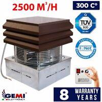 CHIMNEY FAN Exhaust fan chimney draft Extractor FLUE FAN Roof Top 220 Volt