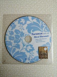 MICOL BARSANTI - VACANZA - CD SINGOLO PROMO - SIGILLATO