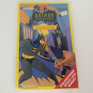 Vintage Batman Animated Series Adventure Set Colorforms 1993 Unopened