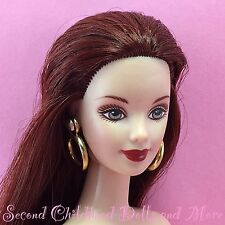Barbie AUTUMN IN PARIS Nude TNT Mackie Face Red Hair Gray Green Eyes Doll Y40