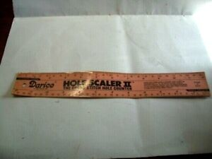 Vintage Cross stitch counter ~ RULER ~ HOLE COUNTER