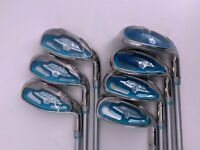 Cobra Baffler Ladies Irons, 5,6,7,8,9,PW,SW (7 Irons) Ladies, Graphite - 2012