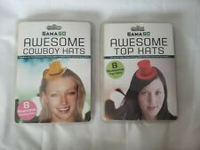 Set Of 2 GamaGo Party Hats Cowboy & Top Hats From 2013