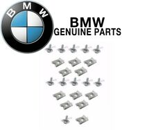 For BMW 11x Hex Head Metal Screw 11x Speed Nut Undercar Shield Fender Liner NEW