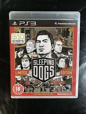 Sleeping Dogs - Limited Edition - Playstation 3.