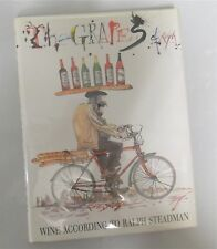 THE GRAPES OF RALPH WINE ACCORDING TO STEADMAN  Signed  X 2 + art FIRST EDITION
