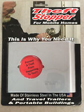 Mobile Home Parts Theft Stopper for Outswing Mobile Home Doors RV, Port Building