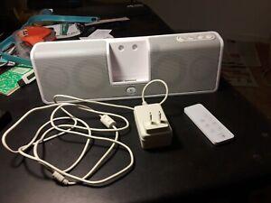 Logitech MM50 iPod Speaker Dock - White