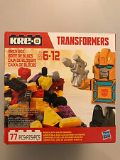 Kre-O Transformers BUMBLEBEE Building Brick Box - Hasbro - New in Box