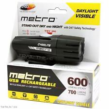 CygoLite Metro 600 USB Rechargeable LED Bike Headlight Light Road Commuter MTB