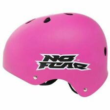 No Fear Skate Helmet Kids Pink SMALL