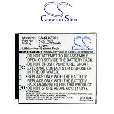 Batteria fotocamera 720mAh Cameron Sino CS-KLIC7001 per Kodak EasyShare M893 IS