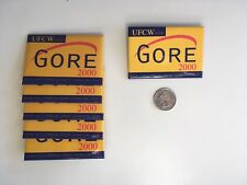 UFCW for Gore 2000 Pin Back Button