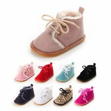 Baby Boy Girl Winter Boots Toddler Kid Booties Shoes Sneakers Snow Shoes Boots