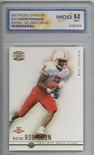 2001 Pacific Dynagon Retail #106 Koren Robinson WCG 9 MT Rookie Football Card