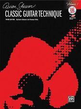 Classic Guitar Technique, Vol 1 (Book & CD) (Shearer Series) by Staff, Alfred P