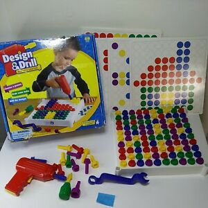 Educational Insights Design Drill Activity Center 112/120 Bolts Fun For Hours