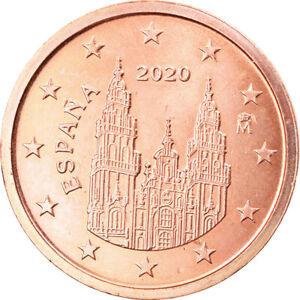 [#796784] Espagne, 2 Euro Cent, 2020, SPL, Copper Plated Steel, KM:New