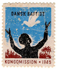 (I.B) Denmark Cinderella : Baptist Congo Mission Seal (1945)