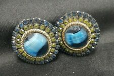 Vintage Har Costume Clip On Earrings