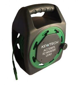 Kewtech ACC50MTL 50 Metre R2 Earth Testing Extension Wander Test Lead Reel