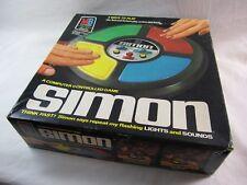 Original Large Vintage Simon Electronic Game 1978 Milton Bradley Retro Classic