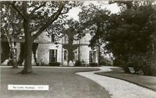 REAL PHOTOGRAPHIC POSTCARD OF THE CASTLE, STANHOPE, COUNTY DURHAM, MONARCH #5925
