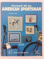 Portrait of An American Sportsman Counted Cross Stitch Pattern Book 118 Jeannett