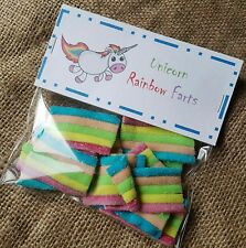 UNICORN RAINBOW FART BIRTHDAY CHRISTMAS PARTY BAG STOCKING FILLER JOKE MAGIC