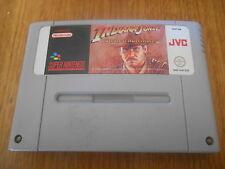 Indiana Jones Greatest Adventures / Jeu SNES / Cartouche seule