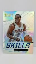 2013-14 Select skills prizms #25 russell westbrook (Thunder)