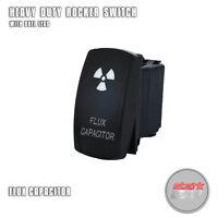 ON OFF DESIGN GREEN Laser Etched 5 PIN LED Rocker Switch Dual Light 20A 12V