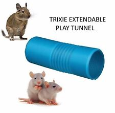 TRIXIE EXTENDABLE PLAY TUNNEL DEGU PET RAT FERRET CAGE TOY ACCESSORY 62796