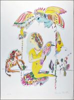 Vintage Serigraph & Silkscreen on Arches Limited Edition Pencil Signed Numbered