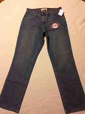 nwt Levi's straight leg blue jeans women`s size 10M (waist 31-34 inseam 31.5)