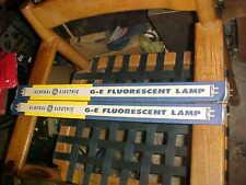 ANTIQUE FLUORESCENT LAMPS 2 GE 20 WATT WARMWHITE USA MADE NOS BOXED