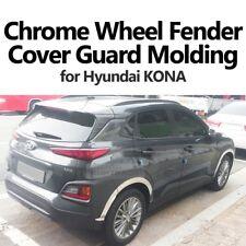 Wheel Fender Chrome Lip Cover Guard Molding Trim 8pcs For Hyundai 2018 KONA