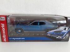 HAutoworld/ertl 1 18 Plymouth GTX 1971