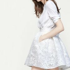 Maje Jeko Guipure Lace Mini Flared Skirt, FR 3