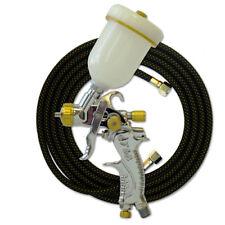 Paasche Hvlp Spray Gun With 1mm Head Amp 10 Braided Air Hose