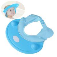 Soft Adorable Kids Shampoo Baby Shower Cap Wash Hair Shield Hat Bathing