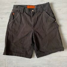 Jesse James washed duck mid weight canvas Shorts Mens Size 32