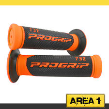 Lenkergriffe Griffgummis KTM EXC 125, 450, 520, 525, 530 ProGrip 732 Orange