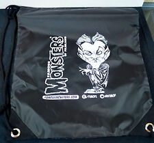 FAMOUS MONSTERS Of FILMLAND DRAW STRING BACKPAK TOTE SDCC Exc 2014 Vincent Price